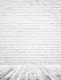 white brick walls