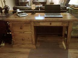 pine office desk. Office Desk 5 Ft X24x30. Pine Shaker Leg W File Drawers. Custom Sizes Avail H