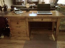 pine office desk. office desk 5 ft x24x30 pine shaker leg w file drawers custom sizes avail