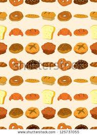 cartoon bread wallpaper. Wonderful Wallpaper Seamless Bread Patterncartoon Vector Illustration Intended Cartoon Bread Wallpaper E