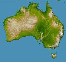 Австралия континент Википедия Топография Австралии