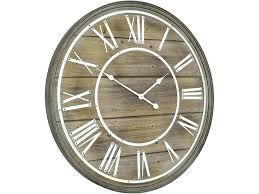 large white wooden wall clock large wooden wall clock bleached wood wall clock large white wooden