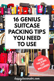 16 essential suitcase ng tips the