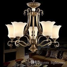 chandelier european american style luxury artistic copper chandeliers lighting brass chandelier led pendant lamp bedroom hotel lobby villa cream chandelier