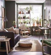 Alseda Voetenbanktafel Bananenvezels In 2019 Living Rooms