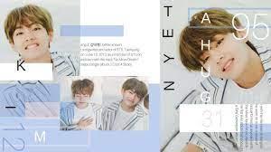 Taehyung Aesthetic Laptop Wallpapers ...