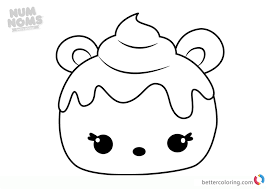 Mint Berry Num Noms Coloring Pages Series 2 Free Printable