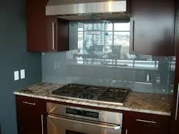 Glass Backsplash In Kitchen Small Kitchen Decorating Design Ideas Using Solid Red Cherry Wood