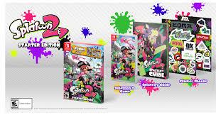 Splatoon 2 Brand Chart Nintendo News Splatoon 2 Starter Edition Launches March 16