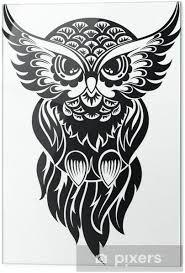 Tetování Sova