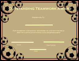soccer awards templates soccer certificate templates activity shelter