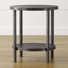 top round end tables