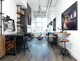 Image Interiors Designed Industrial Home Office Photo Loft Industrial Home Office Industrial Home Office Design Tall Dining Room Table Thelaunchlabco Industrial Home Office Photo Loft Industrial Home Office Industrial