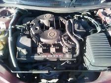 chrysler v engine 2001 01 chrysler sebring lxi 2 7l v6 engine motor run tested 127k