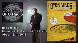 open minds ufo radio karen brard alien and ufo gifts