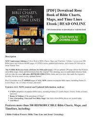 Rose Bible Maps And Charts Pdf Download Rose Book Of Bible Charts Maps And Time Lines