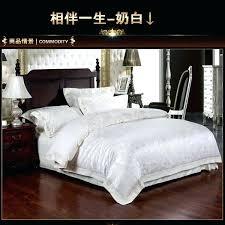 georgina duvet cover cream queen cream duvet cover queen luxury white ivory satin jacquard bedding set