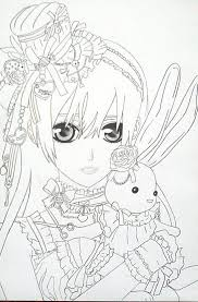 Small Picture Anime Vampire Girl Coloring Pages Anime Vampire Girl Coloring
