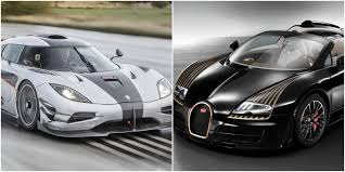 Who is the fastest car? Bugatti Vs Koenigsegg 5 Craziest Cars From Each Brand Hotcars