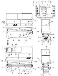 jlg forklift parts forklift maintenance accessories jlg decals diagram