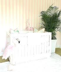 tropical baby nursery white and pink flamingo crib bedding flamingos girl