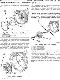 automatic transmission 45rfe 545rfe pdf hold inward on the input shaft to prevent pulling the input clutch assembly the oil