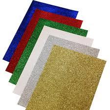 glitter paper. Plain Glitter BI1190 Glitter Paper A4 Pk12 In X