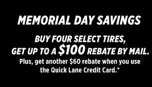 Oil Change, Tires, Service & Repair | Quick Lane® Tire & Auto Center