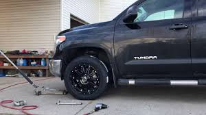 New XD Rims/GoodYear Tires on 2016 Tundra (Tire Rack) - YouTube