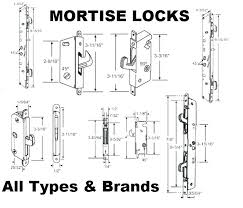 pocket door mortise locks set sliding patio lock sets replacement parts all lanai antique rollers for