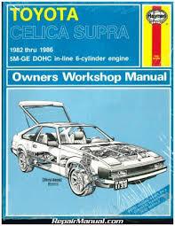 Haynes Toyota Celica Supra 1982-1986 Auto Repair Manual