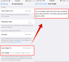 Automatic Respond How To Set Out Of Office Auto Reply Message On Iphone For Calls And