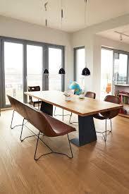 schöne möbel von MB-Zwo rohstahl, esstische, lederbank, sessel ...