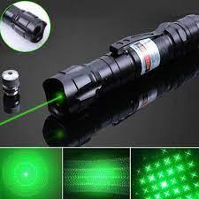 Đèn pin Laser YL-303, tia xanh lá, cực mạnh, siêu sáng - Đèn pin