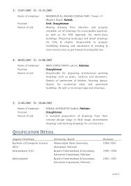 Sample Autocad Drafter Resume Draftsman Resume Zoro Braggs Co