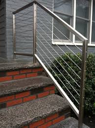 Stainless Steel Cable Stair Rails