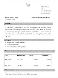 Resume Format Template Lezincdc Com