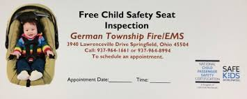 state of ohio child safety seat laws
