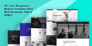 Bootstrap Website 50 Free Responsive Website Templates Built With Bootstrap