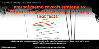 the climate deception dossiers internal fossil fuel industry deception dossier 5 coal s information council on the environment sham