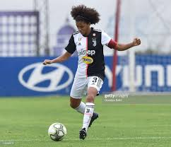 Sara Gama of Juventus in action during the Women Serie A ...