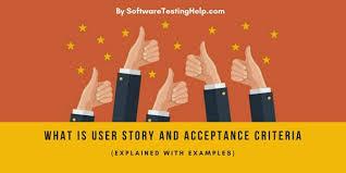 Agile User Story Acceptance Criteria Template What Is User Story And Acceptance Criteria Examples