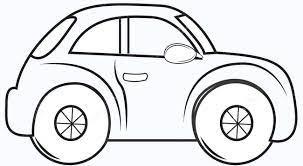 10 mẫu tranh tô màu ô tô sành điệu cho bé trai