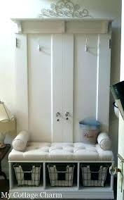 Coat Rack With Seat Extraordinary Entryway Coat Rack With Storage Shoe And Bench Intrabotco