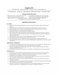 Resume Objective For Customer Service Representative Office