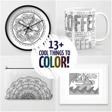 Small Picture 13 Cool things to color that arent coloring pages Moms and