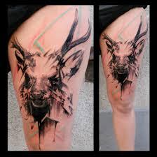 тату олень что означает татуировка олень фото и эскизы работ