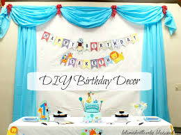 let s make it lovely diy birthday party backdrop decor and more