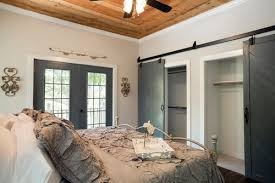 Small Picture How To Emulate This Barn Door Closet Wall Length Closet Design
