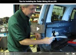 lr3 trailer wiring kit instructions install trailer wiring kit on lr3 video